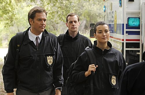 """Swan Song"" -- After new evidence reveals that the Port-to-Port killer has infiltrated the agency, the NCIS teams chase every lead in a race to track him down, on NCIS, Tuesday, May 10 (8:00-9:00 PM, ET/PT) on the CBS Television Network. Pictured left to right: Michael Weatherly, Sean Murray and Cote de Pablo Photo: Monty Brinton/CBS ©2011 CBS Broadcasting Inc. All Right Reserved."