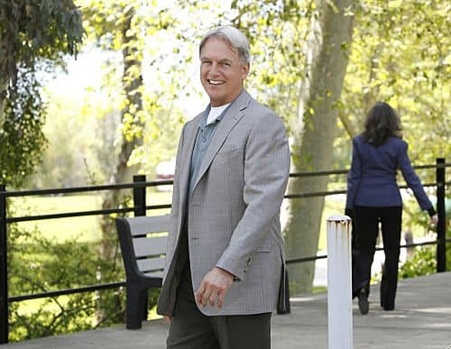 """""""Swan Song"""" -- After new evidence reveals that the Port-to-Port killer has infiltrated the agency, the NCIS teams chase every lead in a race to track him down, on NCIS, Tuesday, May 10 (8:00-9:00 PM, ET/PT) on the CBS Television Network. Pictured: behind the scenes photo of Mark Harmon Photo: Sonja Flemming/CBS ©2011 CBS Broadcasting Inc. All Right Reserved."""