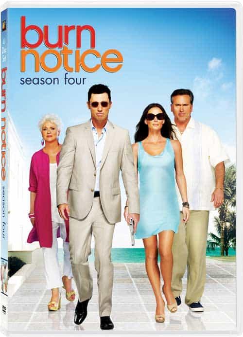 Burn Notice Season 4 DVD