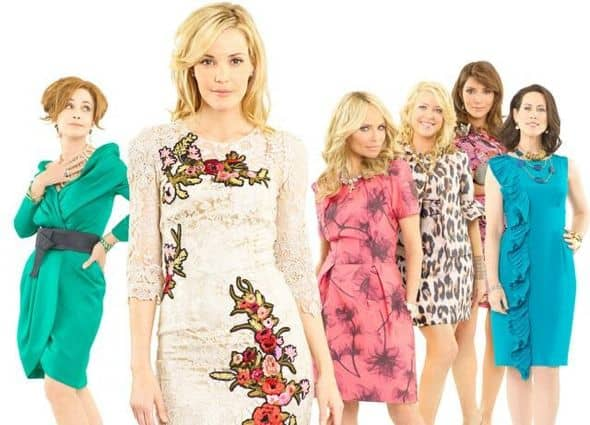 "GOOD CHRISTIAN BELLES - The soap returns to Dallas in this wicked new drama that shows that you can go home again... but only if you're ready to face the sins of your past. ""Good Christian Belles"" stars Leslie Bibb (""Iron Man"") as Amanda Vaughn, Kristin Chenoweth (""Pushing Daisies"") as Carlene Cockburn, Annie Potts (""Law and Order: Special Victims Unit,"" ""Joan of Arcadia"") as Gigi Stopper, Jennifer Aspen (""Rodney"") as Sharon Peacham, Miriam Shor (""Swingtown"" ""Damages"") as Cricket Caruth-Reilly, Marisol Nichols (""24"") as Heather Cruz, Brad Beyer (""Jericho"") as Zack Peacham, Mark Deklin (""Lone Star"") as Blake Reilly and David James Elliott (""JAG"") as Ripp Cockburn. Based on Kim Gatlin's hit book, Good Christian Bitches, ""Good Christian Belles"" is executive-produced by Darren Star (""Sex and the City""), Robert Harling (""Steel Magnolias"") and Aaron Kaplan. The pilot is written by Robert Harling and executive-produced and directed by Alan Poul. ""Good Christian Belles"" is produced by ABC Studios. (ABC/BOB D'AMICO) ANNIE POTTS, LESLIE BIBB, KRISTIN CHENOWETH, JENNIFER ASPEN, MARISOL NICHOLS, MIRIAM SHOR"