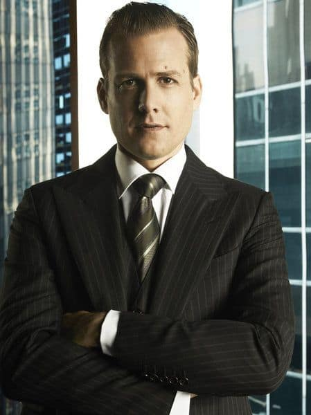 SUITS -- Season:1 -- Pictured: Gabriel Macht as Harvey Specter -- Photo by: Frank Ockenfels/USA Network