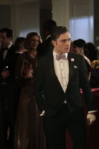 """GOSSIP GIRL episode 422 -- Ed Westwick As Chuck Bass  WB Photo by: Giovanni Rufino"""