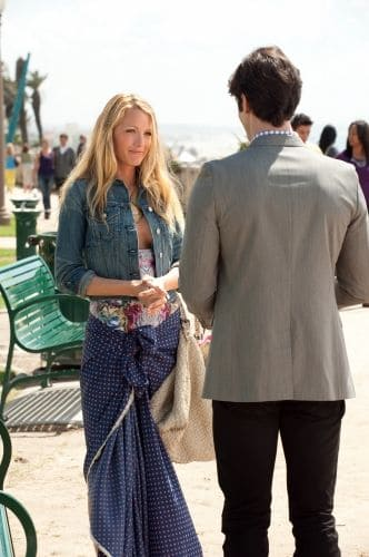 Gossip Girl - Season 4 Blake Lively as Serena Van Der Woodsen and Ethan Peck