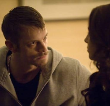 Homicide Detective Stephen Holder (Joel Kinnaman) and Aleena (Alona Tal) - The Killing - Season 1, Episode 12 - Photo by Carole Segal/AMC - KILL_033111_0069.jpg