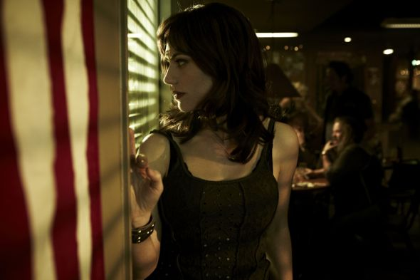 SONS OF ANARCHY: Maggie Siff. Cr: James Minchin III / FX