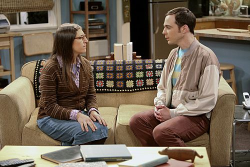 """The Infestation Hypothesis"" --A fight between Sheldon (Jim Parsons, right) and Penny leaves Amy (Mayim Bialik, left) caught in the middle, while Leonard tries to spice up his long-distance relationship with Priya, on THE BIG BANG THEORY, at a special time, Thursday Sept. 22 (8:30-9:00 PM, ET/PT) on the CBS Television Network."