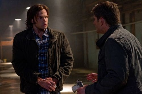 """Hello, Cruel World"" - (L-R): Jared Padalecki as Sam Winchester and Jensen Ackles as Dean Winchester  in SUPERNATURAL on The CW. Photo: Jack Rowand/The CW©2011 The CW Network, LLC. All Rights Reserved."