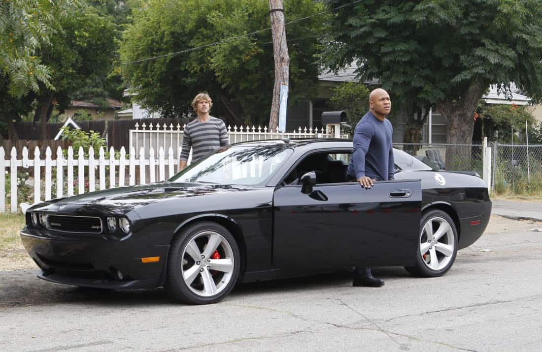 """Backstopped""-- Special Agent Sam Hanna (LL COOL J) and LAPD Detective Marty Deeks (Eric Christian Olsen) race to locate stolen explosives somewhere in the city on NCIS: LOS ANGELES, Tuesday, Oct. 4 (9:00-10:00 PM, ET/PT) on the CBS Television Network. Photo: SONJA FLEMMING/CBS ©2011 CBS BROADCASTING INC. All Rights Reserved."