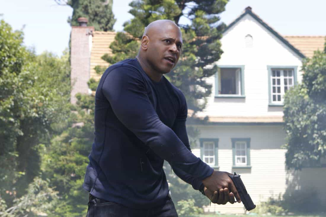 """Backstopped""-- Special Agent Sam Hanna (LL COOL J) races to locate stolen explosives somewhere in the city on NCIS: LOS ANGELES, Tuesday, Oct. 4 (9:00-10:00 PM, ET/PT) on the CBS Television Network. Photo: SONJA FLEMMING/CBS ©2011 CBS BROADCASTING INC. All Rights Reserved."