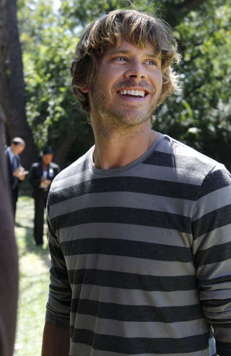 """Backstopped""-- LAPD Detective Marty Deeks (Eric Christian Olsen) races to locate stolen explosives somewhere in the city on NCIS: LOS ANGELES, Tuesday, Oct. 4 (9:00-10:00 PM, ET/PT) on the CBS Television Network. Photo: SONJA FLEMMING/CBS ©2011 CBS BROADCASTING INC. All Rights Reserved."