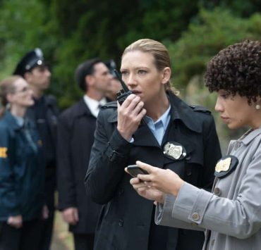 "FRINGE: Olivia (Anna Torv, L) and Astrid (Jasika Nicole, R) investigate a bizarre scene in the ""And Those We've Left Behind"" episode of Fringe airing Friday, Nov. 11 (9:00-10:00 PM ET/PT) on FOX. ©2011 Fox Broadcasting Co. CR: Liane Hentscher/FOX"