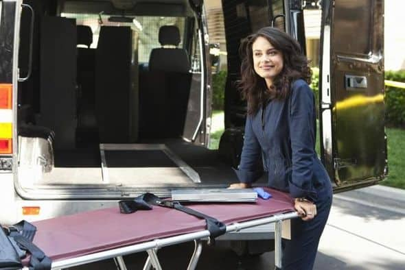 "BODY OF PROOF - ""Gross Anatomy"" - A murdered young woman's body turns up in place of a medical school cadaver during class, leaving Megan to rely on the aid of the star student to help solve the case, on ""Body of Proof,"" TUESDAY, NOVEMBER 29 (10:00-11:00 p.m., ET) on the ABC Television Network. (ABC/MICHAEL DESMOND) NATHALIE KELLEY"