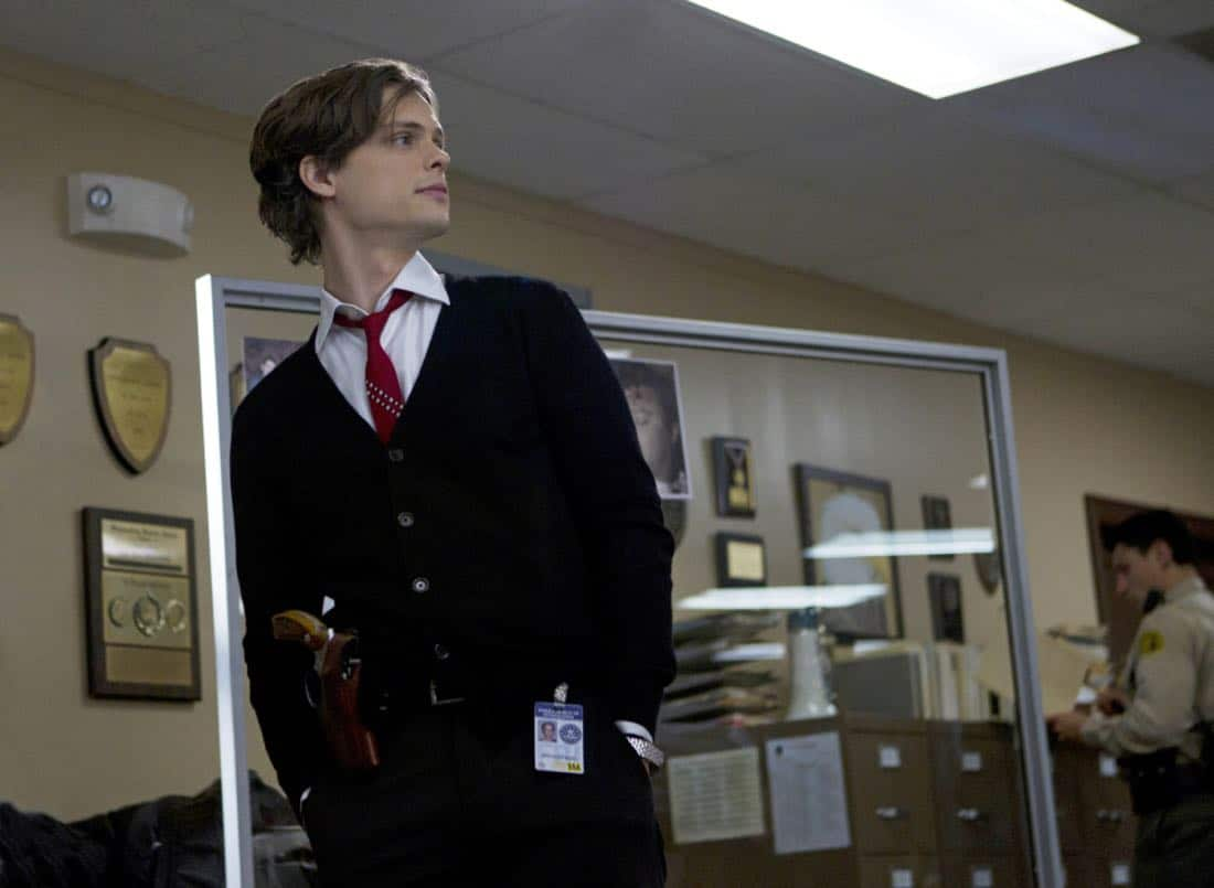 A Thin Line-- Dr. Reid (Matthew Gray Gubler) and the BAU team have to solve the mystery of several home invasions and murders in the California inland empire, on CRIMINAL MINDS, Wednesday, February 22 (9:00-10:00 PM, ET/PT) on the CBS Television Network. Photo: Cliff Lipson/CBS ©2012 CBS Broadcasting Inc. All Rights Reserved.