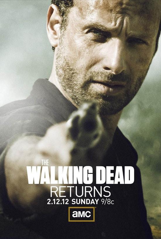 The Walking Dead Season 2 Poster Winter