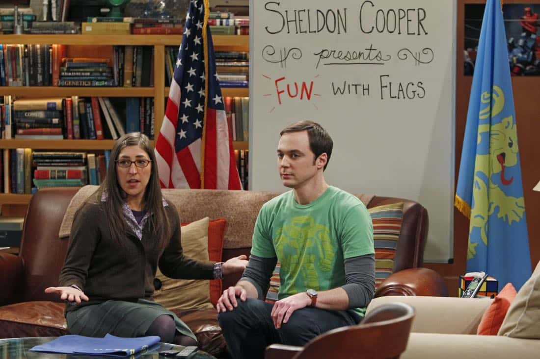 Sheldon Cooper Presents Fun With Flags The Big Bang Theory