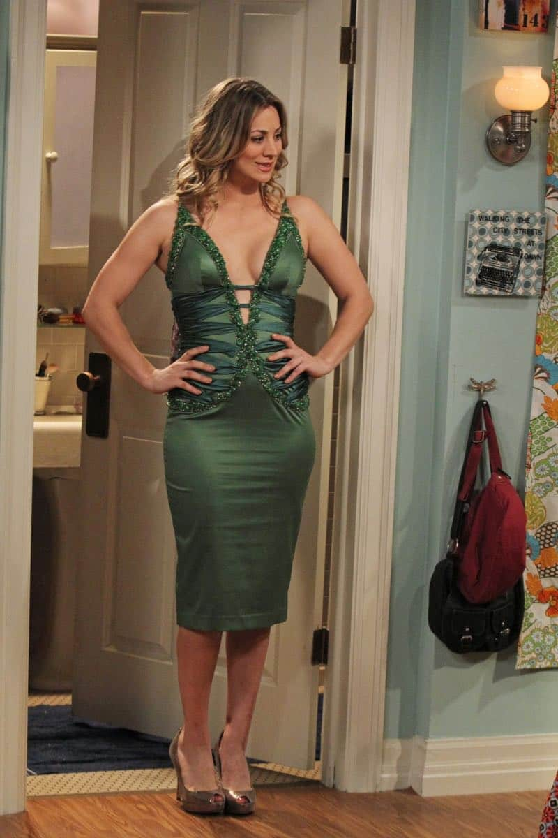 Penny Green Dress The Big Bang Theory