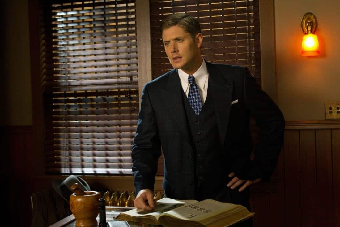 """""""Time After Time"""" - Jensen Ackles as Dean in SUPERNATURAL on The CW. Photo: Jack Rowand/The CW©2012 The CW Network, LLC. All Rights Reserved."""