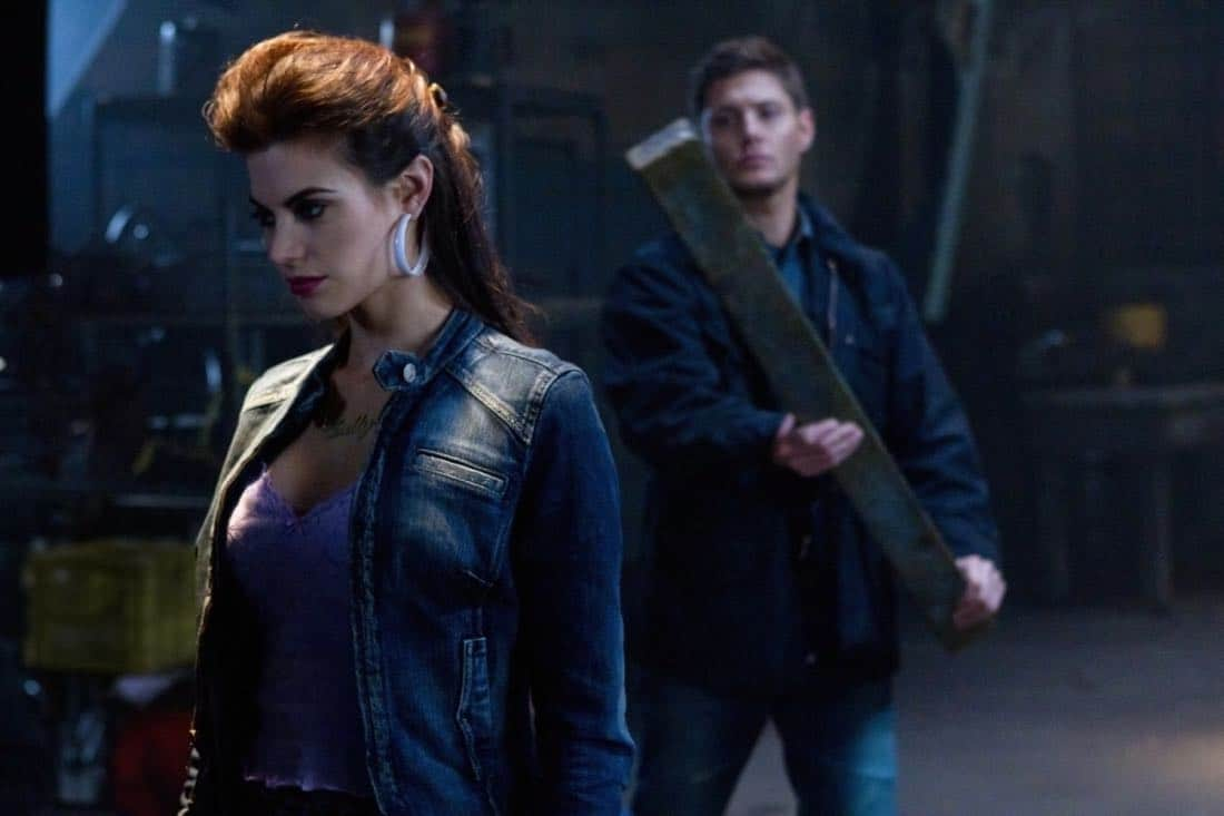 """Adventures in Babysitting"" - (l-r): Meghan Ory as Sally, Jensen Ackles as Dean in SUPERNATURAL on The CW. Photo: Jack Rowand/The CW©2011 The CW Network, LLC. All Rights Reserved."