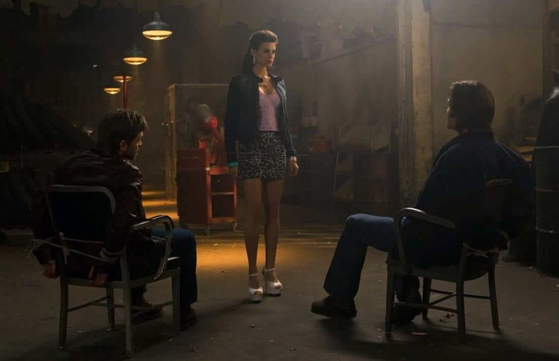 """Adventures in Babysitting"" - (l-r): Ian Tracey as Lee, Meghan Ory as Sally, Jared Padalecki as Sam in SUPERNATURAL on The CW. Photo: Jack Rowand/The CW©2011 The CW Network, LLC. All Rights Reserved."