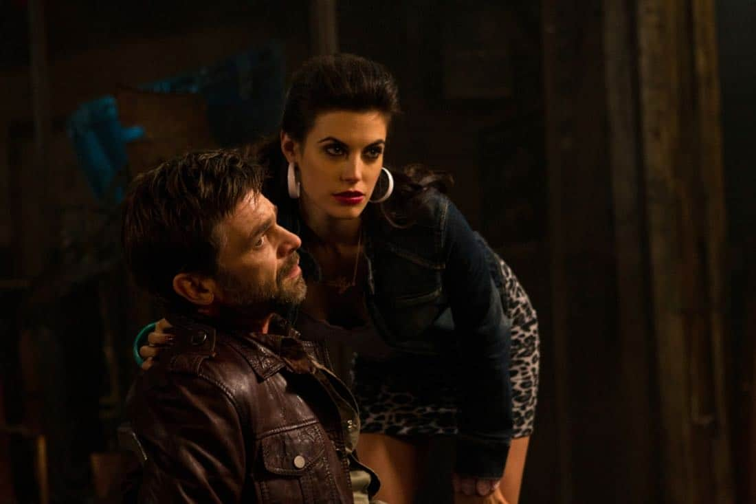 """Adventures in Babysitting"" - (l-r): Ian Tracey as Lee, Meghan Ory as Sally in SUPERNATURAL on The CW. Photo: Jack Rowand/The CW©2011 The CW Network, LLC. All Rights Reserved."