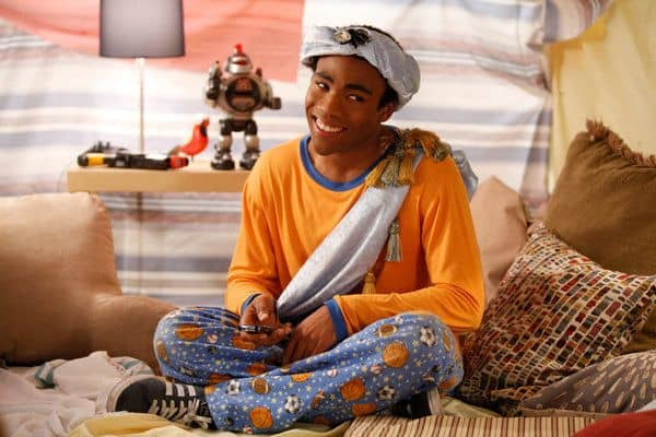 "COMMUNITY -- ""Pillows and Blankets"" Episode 314 -- Pictured: Donald Glover as Troy -- Photo by: Tyler Golden/NBC"