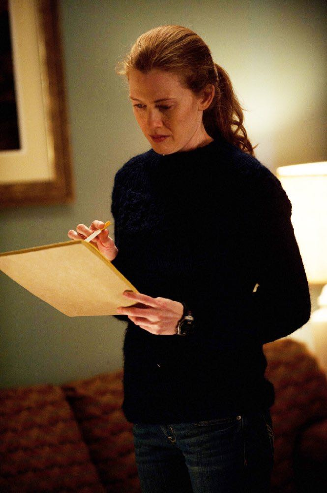 Mireille Enos as Sarah Linden The Killing Season 2 AMC