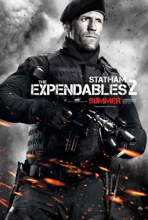 The Expendables 2 Jason Statham