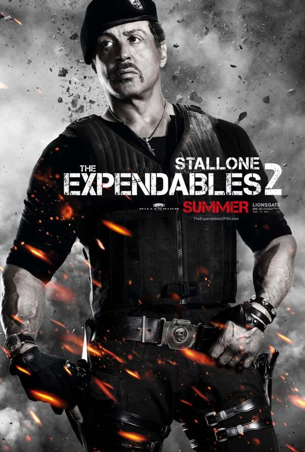 The Expendables 2 Sylvester Stallone
