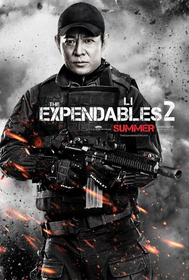 The Expendables 2 Jet Li