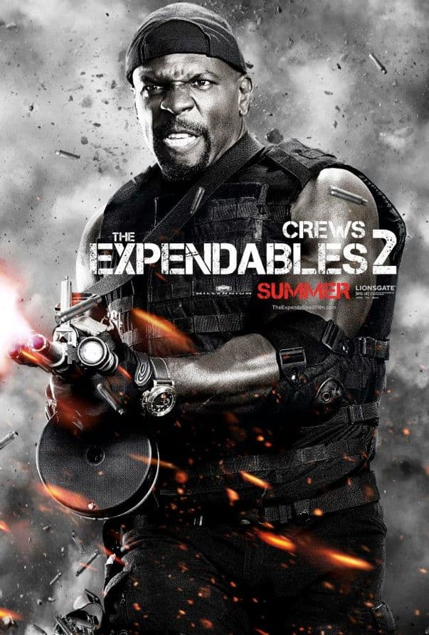 The Expendables 2 Terry Crews