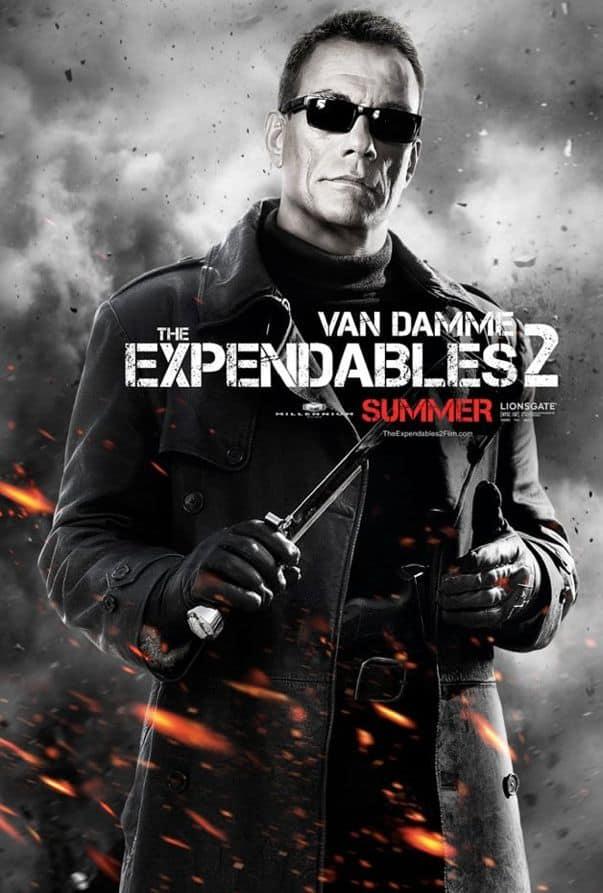 The Expendables 2 Jean Claude Van Damme