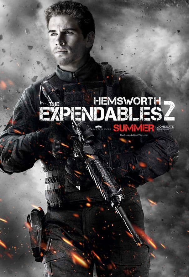 The Expendables 2 Liam Hemsworth