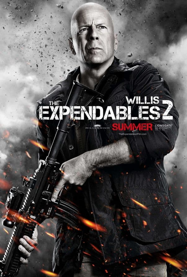 The Expendables 2 Bruce Willis