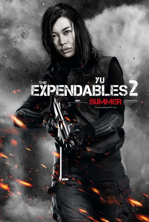 The Expendables 2 Nan Yu
