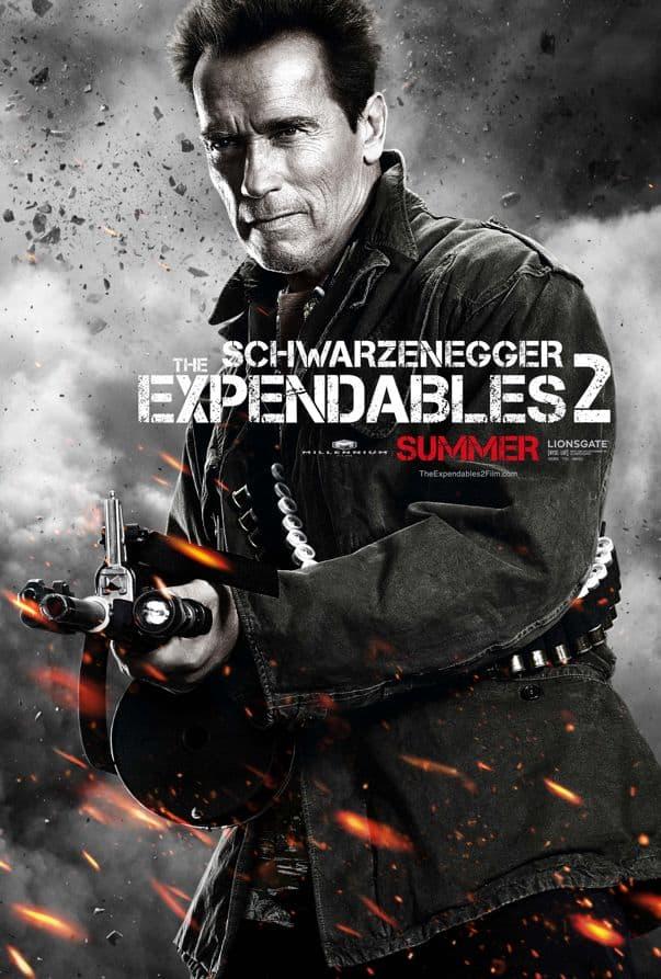 The Expendables 2 Arnold Schwarzenegger