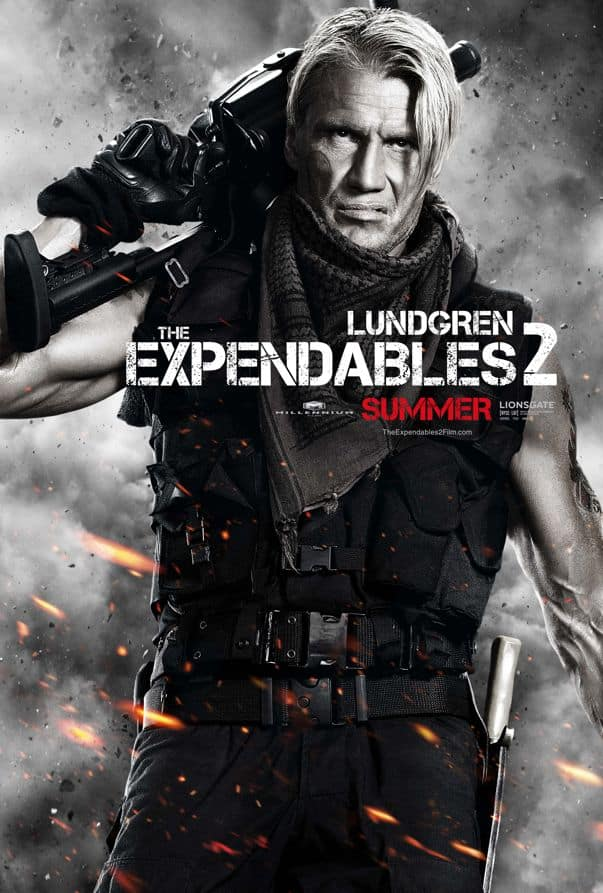 The Expendables 2 Dolph Lundgren