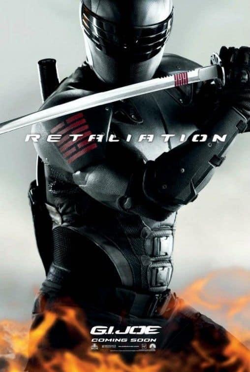 G.I. JOE RETALIATION Snake Eyes
