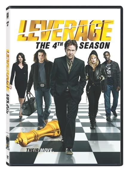 Leverage Season 4 DVD