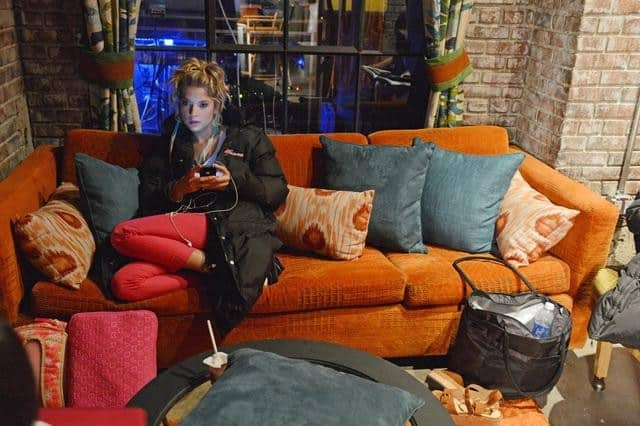 "PRETTY LITTLE LIARS - ""It Happened 'That Night"" - Coming up on the second anniversary of Alison's disappearance, Aria, Emily, Hanna and Spencer are thrown back into turmoil after one shocking night in ""It Happened 'That Night',"" the season three premiere of ABC Family's hit original series ""Pretty Little Liars,"" premiering Tuesday, June 5th (8:00 - 9:00 PM ET/PT). (ABC FAMILY/ERIC MCCANDLESS) ASHLEY BENSON"