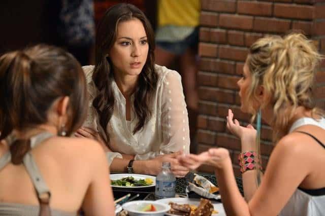 "PRETTY LITTLE LIARS - ""It Happened 'That Night"" - Coming up on the second anniversary of Alison's disappearance, Aria, Emily, Hanna and Spencer are thrown back into turmoil after one shocking night in ""It Happened 'That Night',"" the season three premiere of ABC Family's hit original series ""Pretty Little Liars,"" premiering Tuesday, June 5th (8:00 - 9:00 PM ET/PT). (ABC FAMILY/ERIC MCCANDLESS) TROIAN BELLISARIO"