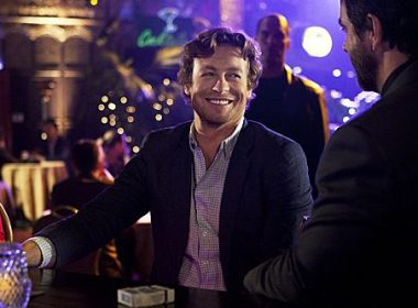"""""""The Crimson Hat"""" --After another failed attempt to defeat Red John, Patrick Jane (Simon Baker) hits rock bottom, on the fourth season finale of THE MENTALIST on Thursday, May 17 (10:00-11:00 p.m. ET/PT) on the CBS Television Network. Photo: Michael Desmond/CBS ©2012 CBS Broadcasting, Inc. All Rights Reserved. #WhereIsJane"""