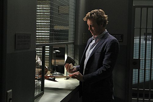 """The Crimson Hat"" --After another failed attempt to defeat Red John, Patrick Jane (Simon Baker) hits rock bottom, finds a lover and shoots one of his own, on the fourth season finale of THE MENTALIST on Thursday, May 17 (10:00-11:00 p.m. ET/PT) on the CBS Television Network. Photo: Sonja Flemming/CBS ©2012 CBS Broadcasting, Inc. All Rights Reserved. #WhereIsJane"