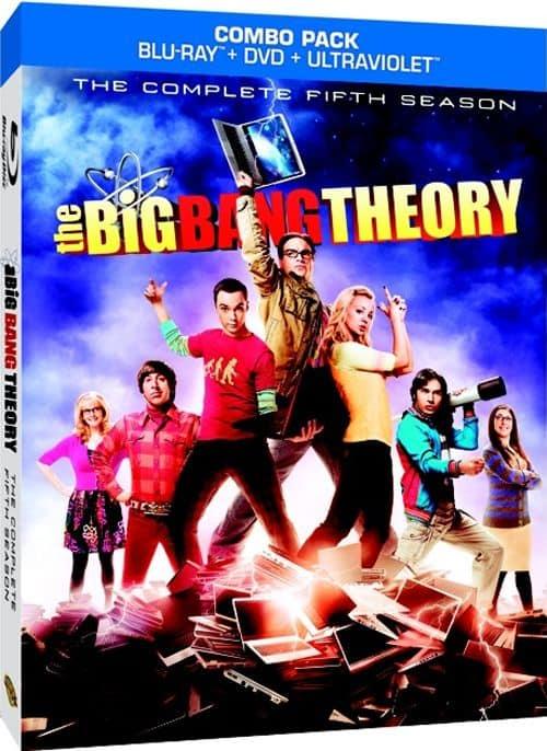 THE BIG BANG THEORY Season 5 BLURAY