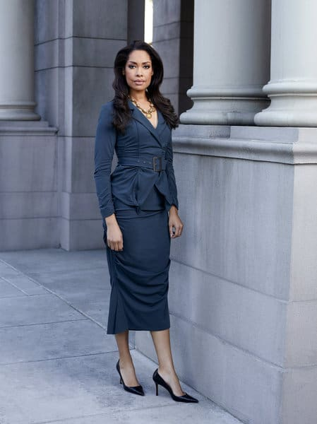 SUITS -- Season: 2 -- Pictured: Gina Torres as Jessica Pearson -- Photo by: Robert Ascroft/USA Network