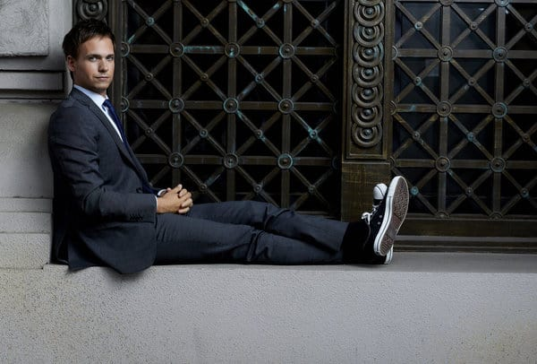 SUITS -- Season: 2 -- Pictured: Patrick J. Adams as Mike Ross -- Photo by: Robert Ascroft/USA Network