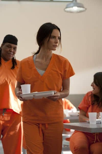 "BURN NOTICE -- ""Mixed Messages"" Episode 601 -- Pictured: Gabrielle Anwar as Fiona Glenanne -- (Photo by Glenn Watson/USA Network)"