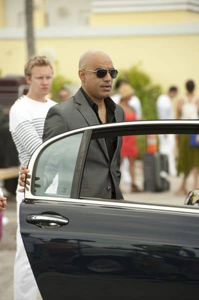 "BURN NOTICE -- ""Last Rites"" Episode 603 -- Pictured: Faran Tahir as Ahmed -- (Photo by Glenn Watson/USA Network)"