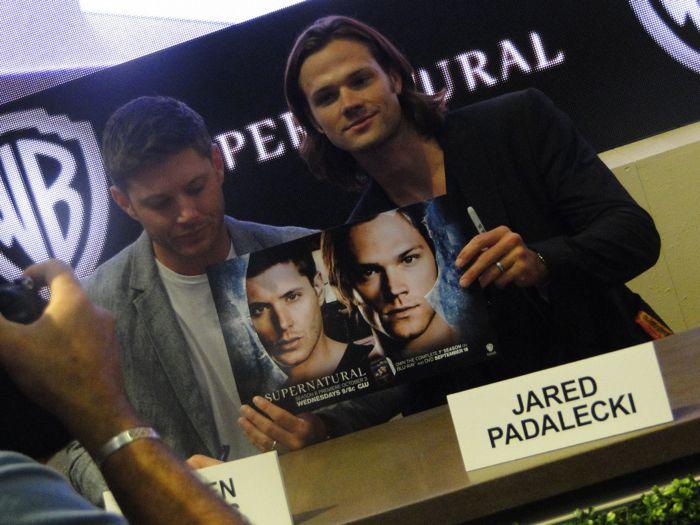 Supernatural Cast Comic Con 2012 5
