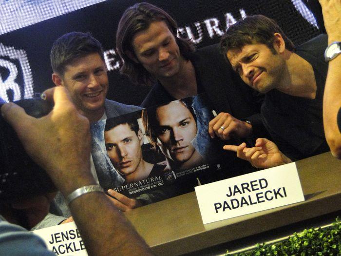 Supernatural Cast Comic Con 2012 4