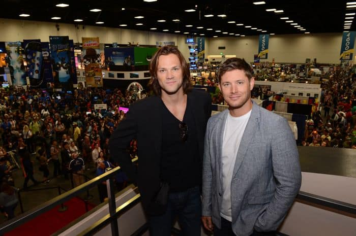 Supernatural Cast Comic Con 2012 2